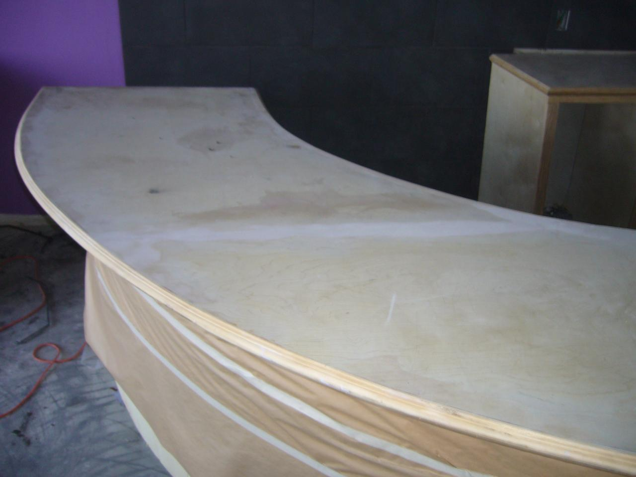 Countertop Shop : ... Frozen Yogurt shop custom cabinets and countertops with custom colors